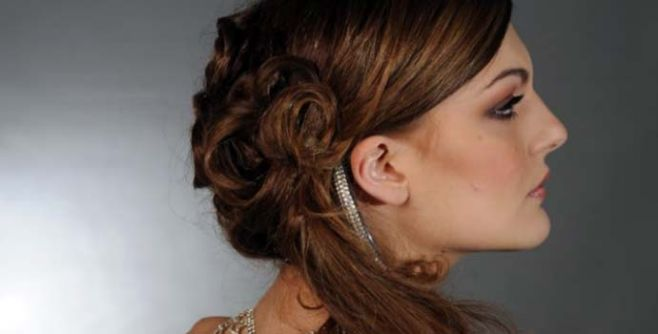 bridal hairstyle Ravello