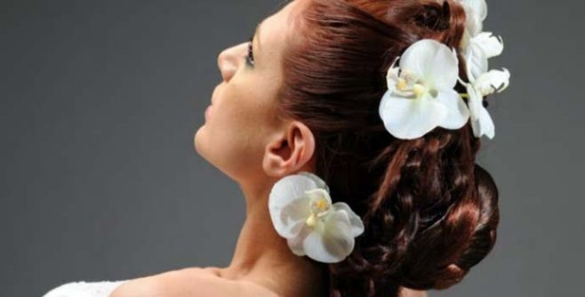 bridal hairstyle Amalfi